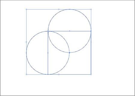 Sélectionner carré et cercles