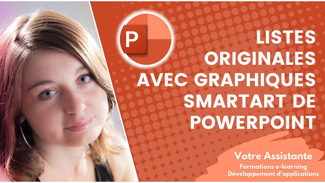 Créer des listes originales avec les graphiques SmartArt de PowerPoint