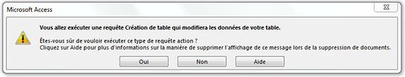 exporter une requete access en pdf