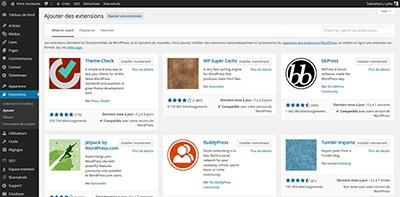 Ajouter de nouvelles fonctionnalités grâce aux plugins WordPress