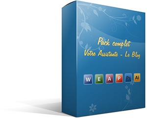 Packaging du Pack complet Votre Assistante - Le Blog