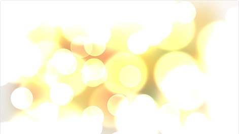 Exemple d'effet Bokeh lumineux