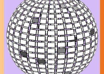Boule disco 3D