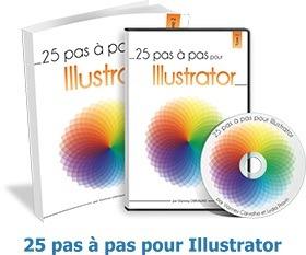Présentation de la formation 25 pas-à-pas pour Illustrator