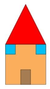 Exemple de maison dessinée à la plume