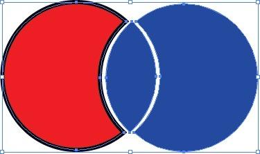 Exemple de cercles avec Division Pathfinder