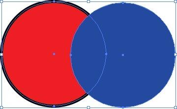 Exemple de cercles différents