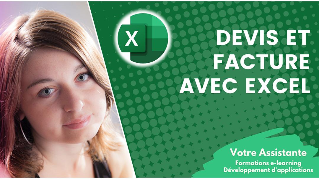 Exemple Créer un devis et une facture avec Excel