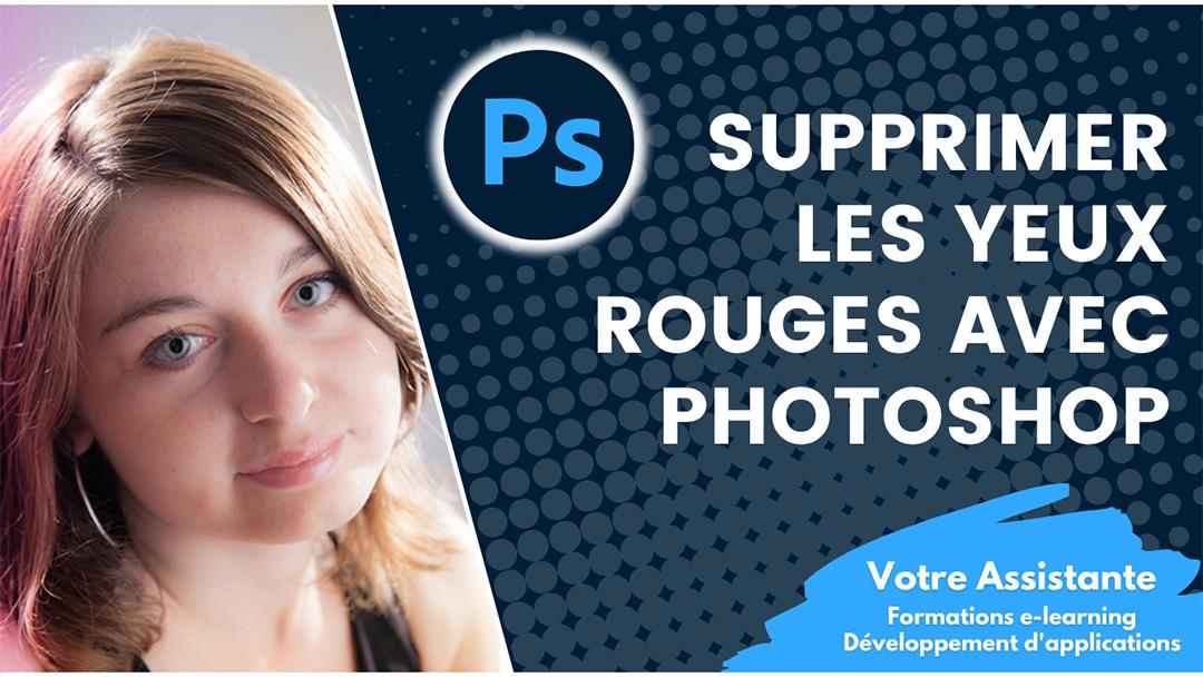 Supprimer les yeux rouges d'un humain et les yeux verts ou jaunes d'un animal avec Photoshop