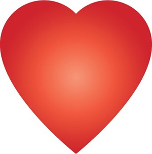 Création d'un coeur en dégradé