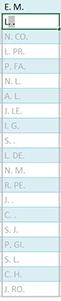 Remplir rapidement un tableau Excel avec le remplissage