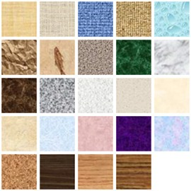 Textures disponibles sur Word