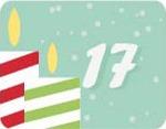 17e jour du calendrier de l'Avent