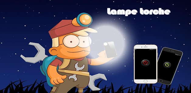 Application mobile lampe torche pour Android