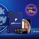 Black Friday 2018 : jusqu'à – 75 % sur PDFelement