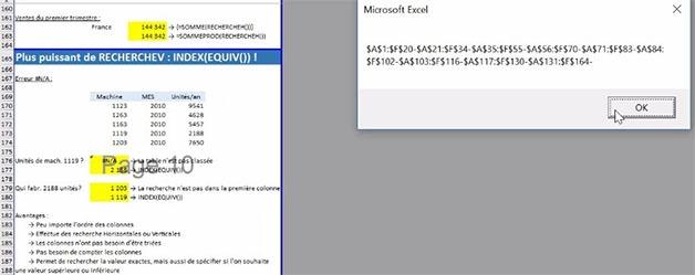 Dernière feuille Excel