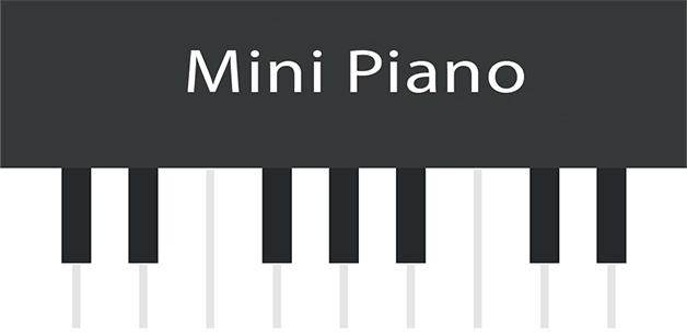Application mobile Mini piano pour Android