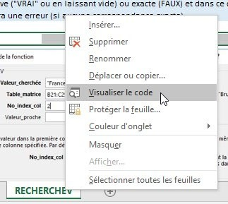 Visualiser le code VBA d'Excel
