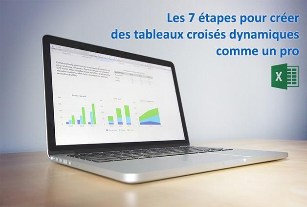 Formation Excel sur le tableau croisé dynamique (TCD)