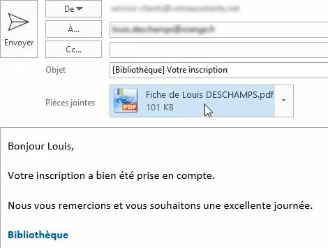 Envoyer des emails avec Access