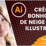 Créer un bonhomme de neige avec Illustrator