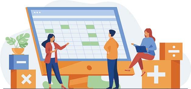 Découvrez l'environnement d'Excel